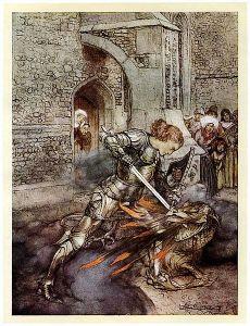 Ilustração: Arthur Rackham