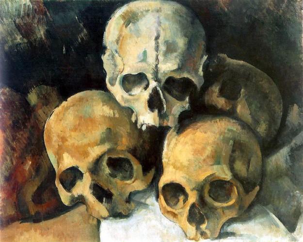 paul_cc3a9zanne2c_pyramid_of_skulls2c_c-_1901